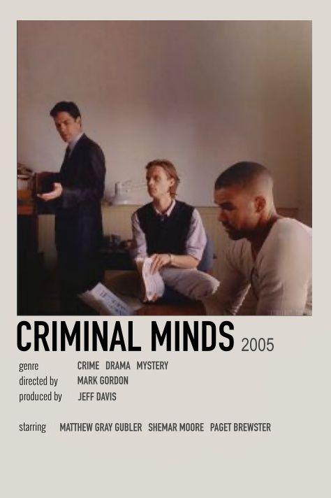 poster by lia crimal minds criminal