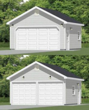 10 Awesome 20 X 20 Shed Plans Building A Garage Garage Building Plans Barn Style House Plans