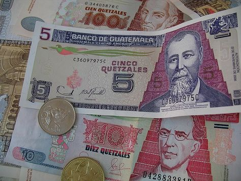 Just like everything else in Guatemala, money is very colorful. I believe I could also do a series in Guatemalan currency. What do you guys think?