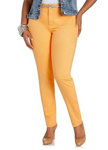 c5cae8655635b Fashion Bug Womens Plus Size Bitter Orange Jeggings. www.fashionbug.us  #curvy #plussize | Fashion Bug Legging & Jegging Plus Size | Jeggings,  Fashion, Plus ...