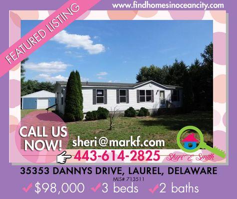 Featured Listings: 35353 Dannys Drive, Laurel, Delaware 19956