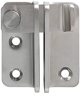 Amazon Com Alise Ms3001 Flip Latch Gate Latches Safety Door Lock 55x45mm Stainless Steel Brushed Finish Home