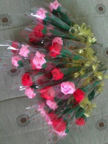 Gambar Bunga Mawar Flanel Murah Buket Bunga Mawar Flanel 1 Tangkai Untuk Hadiah Wisuda Dll Vas Bunga Mawar Flanel Buket Bu Gambar Bunga Bunga Bunga Cantik