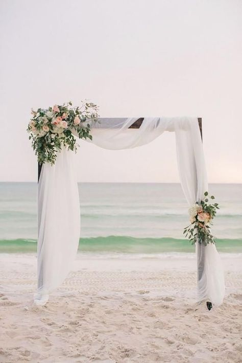 39 Gorgeous Beach Wedding Decoration Ideas ❤️ beach wedding decoration ideas beach arch Pure7 Studios #weddingforward #wedding #bride #beach wedding 39 Gorgeous Beach Wedding Decoration Ideas | Wedding Forward