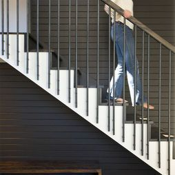 Find Modern Homes And Modern Home Decor Online Stair Railing Staircase Railings Modern Staircase