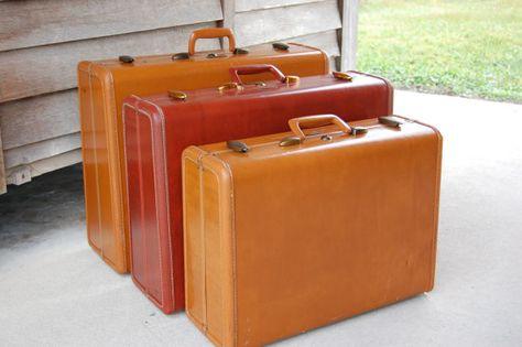 Vintage Train Case Vanity Luggage Samsonite by PickersWarehouse ...