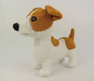 Image Result For Jack Russell Terrier Amigurumi Pattern Free