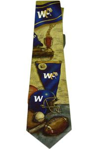 Athletic Necktie. $23.95  Order now & ship today! Call 704-233-8025.