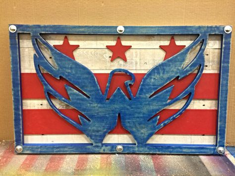 Washington Capitals Sign - Need this in the house