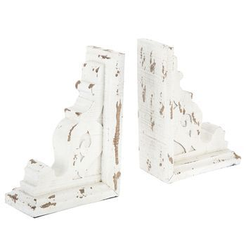 Distressed Corbel Bookend Set Mantledecor Hobby Lobby Decor Corbels Bookends