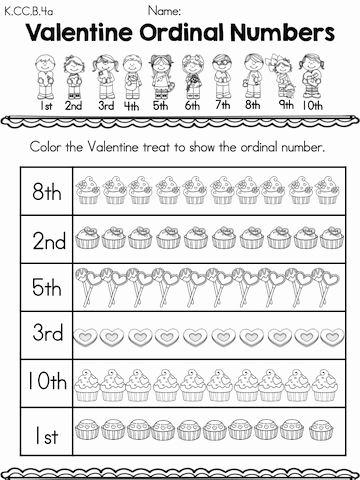 Worksheets For Kindergarten Ordinal Numbers Kindergarten Math Worksheets Kindergarten Worksheets Ordinal Numbers
