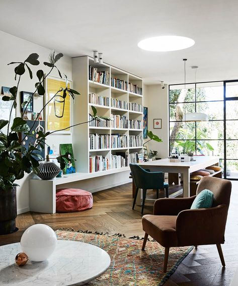 Artist and designer Rachel Castle transforms her dull 1930s home into a creative and colourful retreat that reflects her bold and unique style.