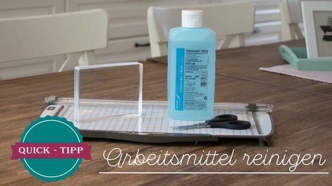 Quick Tipp 9 Arbeitsmittel Reinigen Mit Hand