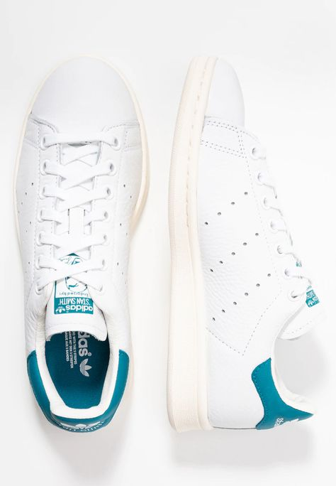 STAN SMITH - Joggesko - footwear white/active teal/offwhite ...