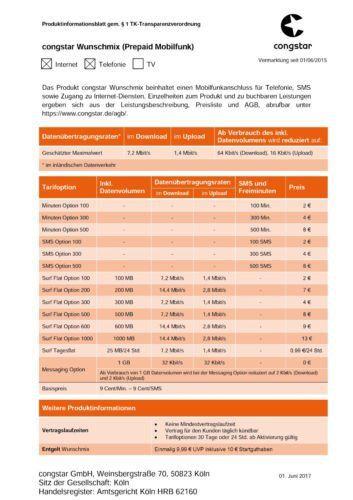 Sim Karte Telekom.Schöne Info Congstar Prepaid Wie Ich Will Mit 10 Euro Guthaben