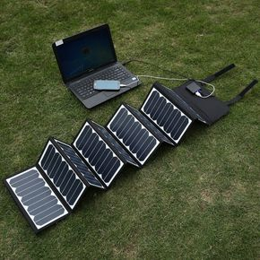 Poweradd 60w Portable Foldable Solar Panel Charger Cool Gadgets Tech Charger Laptop Outdoor Smartphone S Solar Panel Charger Solar Panels Solar Charger