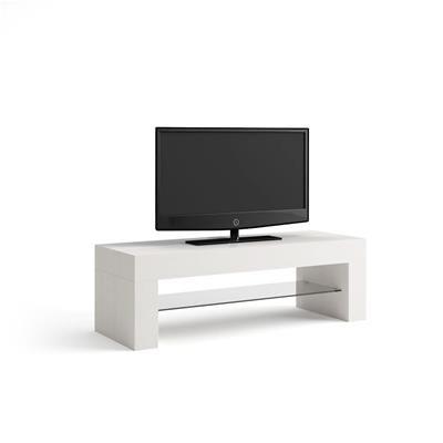 Tavolo Consolle Allungabile Bianco.Porta Tv Evolution Bianco Frassino En 2020 Mesa Consola