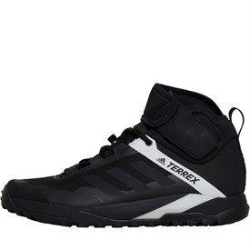 adidas Herren TERREX Trail Cross Protect Mountain Bike Sneakers Schwarz