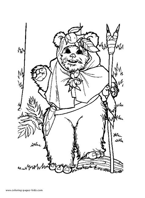 star wars coloring page ewoks embroidery patterns Pinterest - fresh spiderman coloring pages hellokids.com