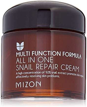 Amazon Ca Korean Skin Care Snail Repair Cream Moisturizer 97 5 Snail Mucin Extract Al Beauty Personal Care Repair Cream Moisturizer Cream Mizon