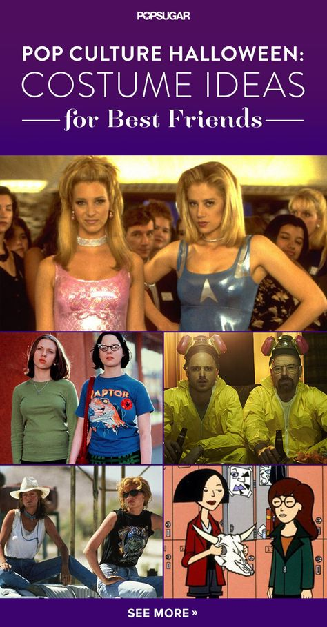 Pop Culture Halloween 42 Costume Ideas For BFFs - pop culture halloween costume ideas