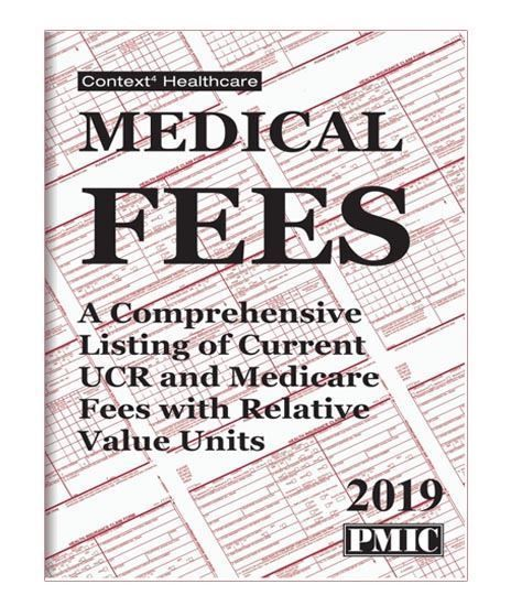 Medical Fees 2019 Medical Medical Coding Health Insurance