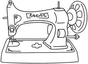 Enjoy Some Old School Crafting With This Antique Sewing Machine On