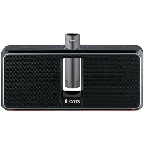iHome Portable Rechargeable Stereo Speaker System