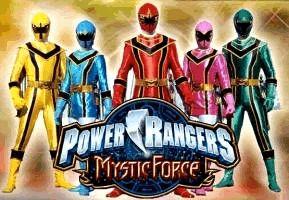 Coloriage : Power Rangers