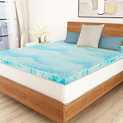 Amazon.com: Mattress Topper, POLAR SLEEP 3 Inch Gel Swirl Memory