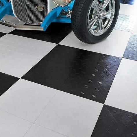 Motofloor Modular Garage Flooring Tiles 3 Colors Costco