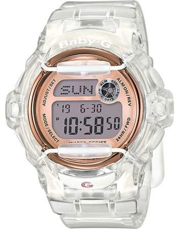 Jewelry White Rose Gold Watch Baby G Casio