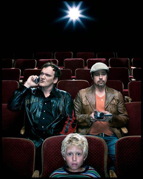 Quentin Tarantino & Brad Pitt