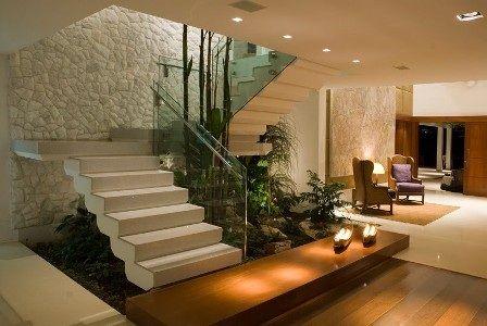 Habillage escalier béton sur mesure, marches, rampes du0027escaliers - escalier interieur de villa