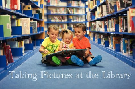 Taking Pictures at the Library - Photography Tips for photos with kids | Capturing Joy with KristenDuke.com