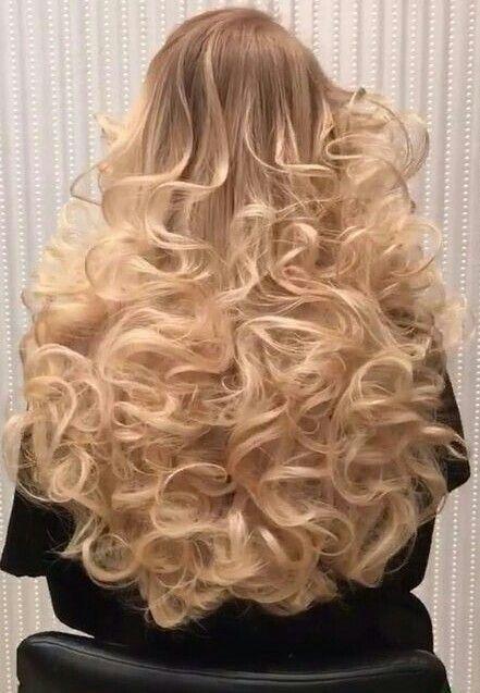 Sissy cuckold curly long hair