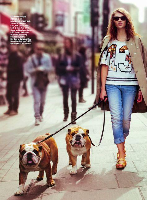 fashion editorials: the brit school: poli korol by jackie dixon for uk cosmopolitan august 2014