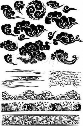 Japanese Clouds Mas Mas Tato Geisha Ide Tato Tato Tradisional