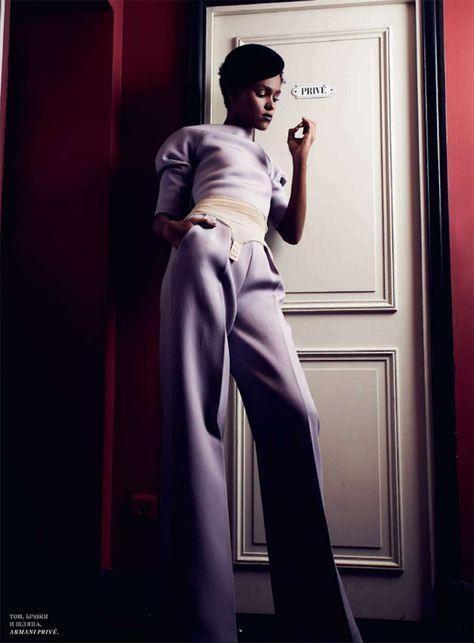 Raquel | Natalia Alaverdian | Harper's Bazaar Russia December 2012 - 3 Sensual Fashion Editorials | Art Exhibits - Women's Fashion & Lifestyle News From Anne of Carversville