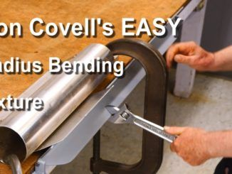 How To Make A Radius Bending Fixture For Sheet Metal Metal Bending Tools Metal Bending Metal Shaping