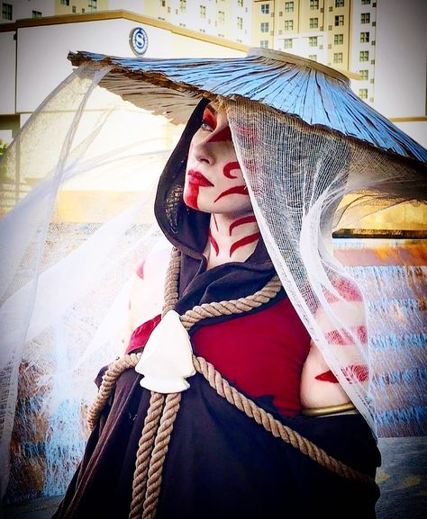 Killer painted lady cosplay