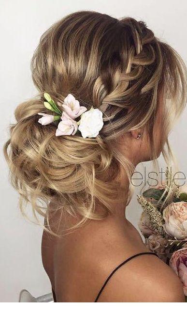 27 Stunning Summer Wedding Hairstyles Wedding Forward Summer Wedding Hairstyles Elegant Wedding Hair Wedding Hairstyles