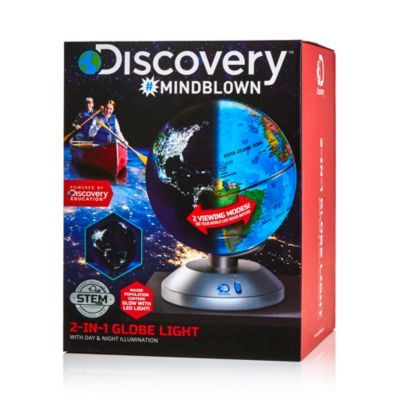 Discovery #Mindblown 2 in 1 Globe Light Ages 8+ Blue