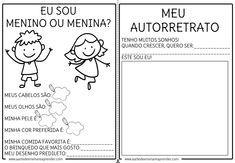 Album Minha Historia Projeto Identidade Educacao Infantil