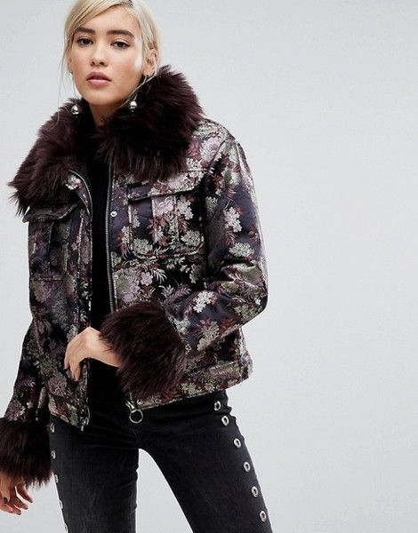 Metallic Brocade Coat - Crazy Winter Coats You Need to Spice Up Your Wardrobe This Winter - Photos