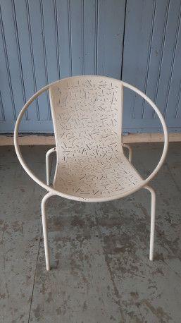 Fauteuil de jardin design vintage #fauteuil #chair #garden ...