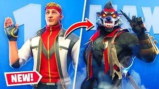 Unlocking Max Tier Werewolf Dire Skin In Fortnite With