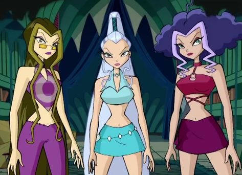 Icy, Darcy and Stormy (The Cartoon Icons, Girl Cartoon, Cartoon Styles, Cartoon Characters, Winx Club, Cartoon Outfits, Winx Magic, Les Winx, Cartoon Profile Pictures