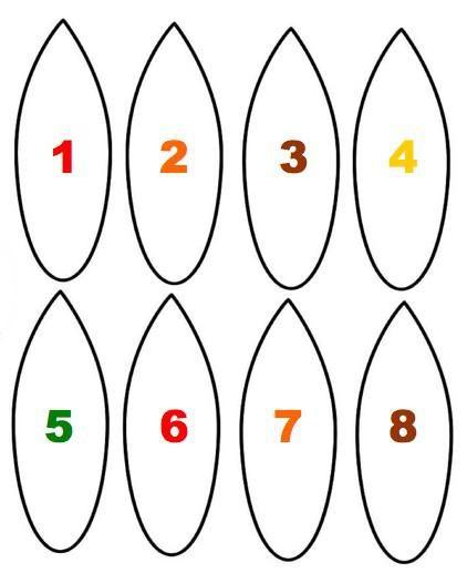 Thanksgiving Turkey Pattern  Geometra
