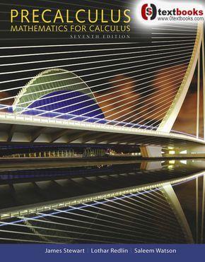 precalculus mathematics for calculus 7th edition pdf download
